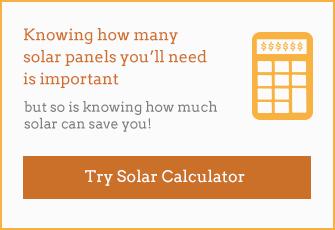 How big a solar power system? How many solar panels? Solar calculator.